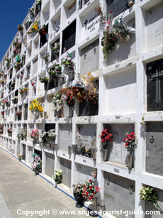 The Cemetery in Sitges