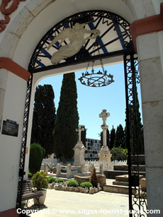 Cemetery in Sitges