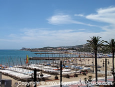 The Beachfront in Sitges